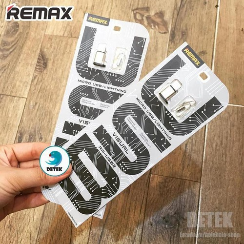 Đầu chuyển từ MicroUsb sang Lighning Remax RA-USB2