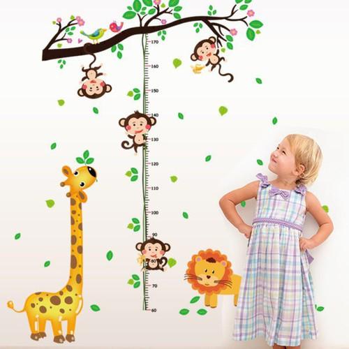 Decal dán tường Đo chiều cao khỉ đu dây - 8001309 , 17681442 , 15_17681442 , 60000 , Decal-dan-tuong-Do-chieu-cao-khi-du-day-15_17681442 , sendo.vn , Decal dán tường Đo chiều cao khỉ đu dây