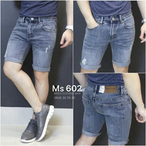 Quần short jean nam ms602