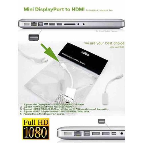 Cáp chuyển Mini Displayport to HDMI -DP - HDMI