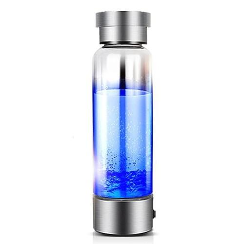 Bình giữ nhiệt thuỷ tinh tự làm lạnh 400ml Hydrogen Cool Water