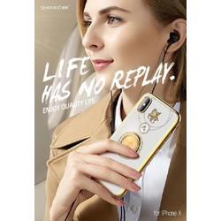 Ốp lưng đính đá hoa văn cao cấp cho iphone 6G,6plus,,7p, 8p, X, Xs Max