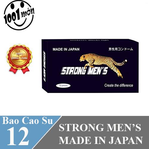 Bao Cao Su Strong Men Hộp 12 Cái