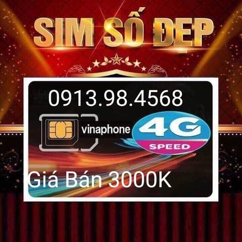 sim 10 số vinaphone 0913-98-4568