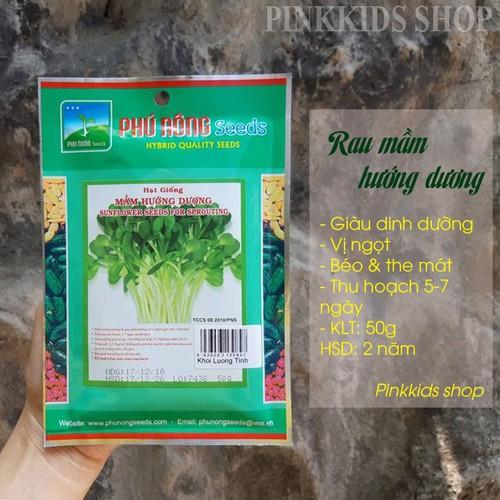 Hạt giống rau mầm hướng dương PN 50g - 11481270 , 17319430 , 15_17319430 , 30000 , Hat-giong-rau-mam-huong-duong-PN-50g-15_17319430 , sendo.vn , Hạt giống rau mầm hướng dương PN 50g