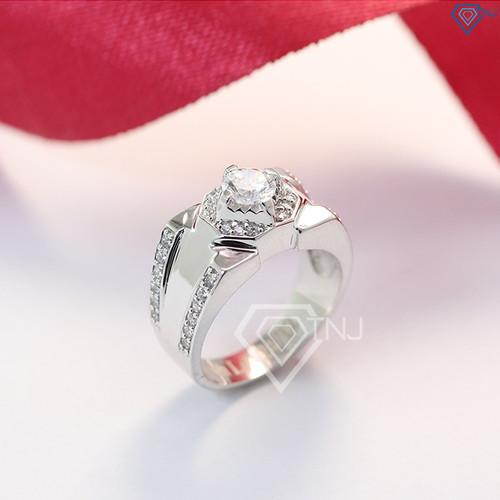 Nhẫn bạc nam đẹp mặt đá nhẫn bạc nam giá rẻ NNA0095 - Trang Sức TNJ - 11484436 , 17328152 , 15_17328152 , 530000 , Nhan-bac-nam-dep-mat-da-nhan-bac-nam-gia-re-NNA0095-Trang-Suc-TNJ-15_17328152 , sendo.vn , Nhẫn bạc nam đẹp mặt đá nhẫn bạc nam giá rẻ NNA0095 - Trang Sức TNJ