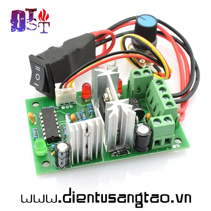 Mạch điều khiển tốc độ động cơ có đảo chiều 10V 12V 24V 36V DC 150W