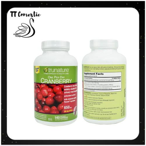 Viên uống trunature cranberry hỗ trợ đường tiết niệu|vien uong trunate cranberry xuất xứ Mỹ 140 viên - 11482470 , 17322610 , 15_17322610 , 720000 , Vien-uong-trunature-cranberry-ho-tro-duong-tiet-nieuvien-uong-trunate-cranberry-xuat-xu-My-140-vien-15_17322610 , sendo.vn , Viên uống trunature cranberry hỗ trợ đường tiết niệu|vien uong trunate cranberry