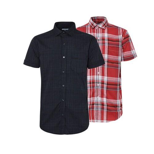 Combo 2 áo sơ mi nam sọc caro phong cách mới SMC0810