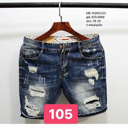 Quần short jean nam ms105