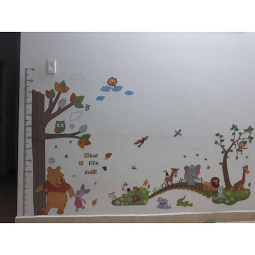 Decal dán tường kết hợp thú qua cầu và đo chiều cao gấu pooh - 7691322 , 17681379 , 15_17681379 , 90000 , Decal-dan-tuong-ket-hop-thu-qua-cau-va-do-chieu-cao-gau-pooh-15_17681379 , sendo.vn , Decal dán tường kết hợp thú qua cầu và đo chiều cao gấu pooh