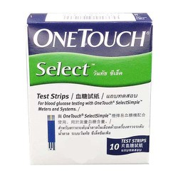combo 3 hộp Que thử đường huyết ONETOUCH SELECT STRIP 10 S