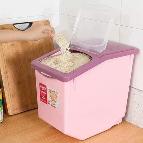 Thùng đựng gạo loại to 15 kg, chất liệu cao cấp dày dặn - 4840971 , 17320527 , 15_17320527 , 175000 , Thung-dung-gao-loai-to-15-kg-chat-lieu-cao-cap-day-dan-15_17320527 , sendo.vn , Thùng đựng gạo loại to 15 kg, chất liệu cao cấp dày dặn