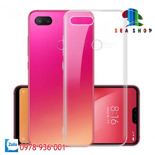 Ốp lưng Xiaomi Mi 8 Lite - Mi 8X nhựa dẻo trong suốt   Case Xiaomi Mi 8 SE Silicon - 11480095 , 17316955 , 15_17316955 , 29000 , Op-lung-Xiaomi-Mi-8-Lite-Mi-8X-nhua-deo-trong-suot-Case-Xiaomi-Mi-8-SE-Silicon-15_17316955 , sendo.vn , Ốp lưng Xiaomi Mi 8 Lite - Mi 8X nhựa dẻo trong suốt   Case Xiaomi Mi 8 SE Silicon
