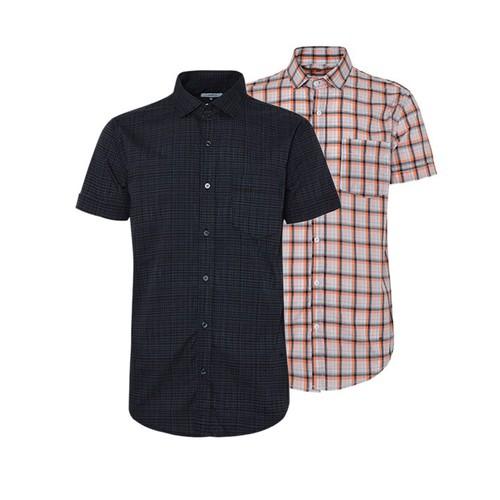 Combo 2 áo sơ mi nam sọc caro phong cách mới SMC085