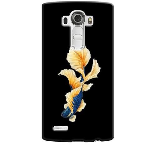 Ốp lưng nhựa cứng nhám dành cho LG G4 in hình Cá