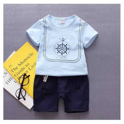 Set áo phông và quần short cho bé trai từ 1-4 tuổi