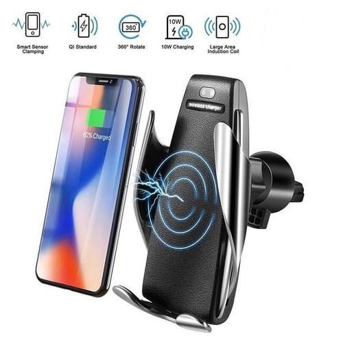 Giá đỡ điện thoại trên ô tô kiêm sạc không dây
