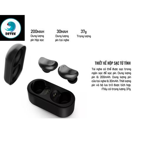 Tai nghe Bluetooth 2 bên Remax TWS-5 kèm dock sạc - 11478590 , 17312620 , 15_17312620 , 899000 , Tai-nghe-Bluetooth-2-ben-Remax-TWS-5-kem-dock-sac-15_17312620 , sendo.vn , Tai nghe Bluetooth 2 bên Remax TWS-5 kèm dock sạc