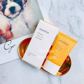 Kem chống nắng Innisfree Intensive Triple Care Sunscreen 50ml mẫu mới 2019 - KCN06
