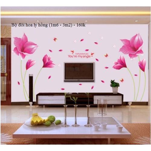 Decal dán tường Bộ đôi hoa ly hồng kết hợp - 4716258 , 17680479 , 15_17680479 , 100000 , Decal-dan-tuong-Bo-doi-hoa-ly-hong-ket-hop-15_17680479 , sendo.vn , Decal dán tường Bộ đôi hoa ly hồng kết hợp