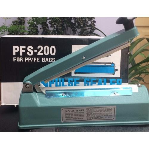 Máy hàn miệng túi PFS 200 - Đường hàn dày 8mm - THÂN SẮT