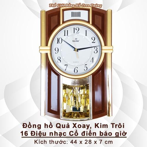 Đồng hồ Gastar Quả lắc xoay, Kim trôi, 16 điệu nhạc Cổ điển Báo giờ - 7657541 , 17308991 , 15_17308991 , 949000 , Dong-ho-Gastar-Qua-lac-xoay-Kim-troi-16-dieu-nhac-Co-dien-Bao-gio-15_17308991 , sendo.vn , Đồng hồ Gastar Quả lắc xoay, Kim trôi, 16 điệu nhạc Cổ điển Báo giờ