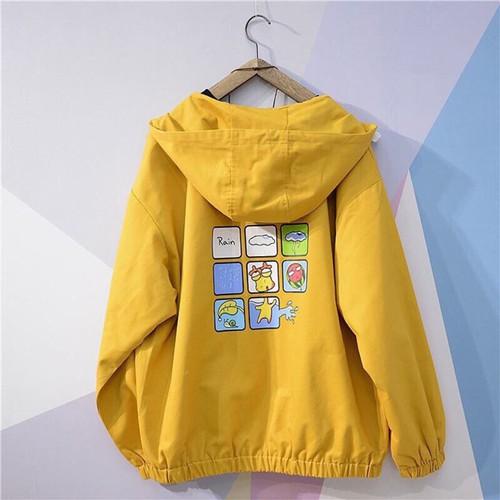 Áo khoác nữ đẹp áo gió dù jacket kiểu hoạt hình ở lưng giá rẻ tận xưởng - 7526928 , 17325534 , 15_17325534 , 105000 , Ao-khoac-nu-dep-ao-gio-du-jacket-kieu-hoat-hinh-o-lung-gia-re-tan-xuong-15_17325534 , sendo.vn , Áo khoác nữ đẹp áo gió dù jacket kiểu hoạt hình ở lưng giá rẻ tận xưởng