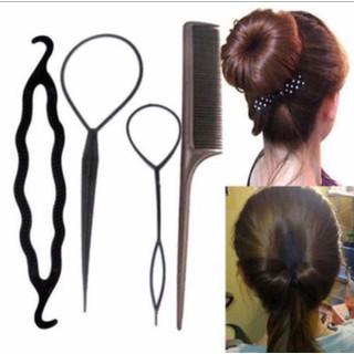 Combo 3 Bộ 4 dụng cụ làm tóc cho mẹ và bé - LTCB3 thumbnail