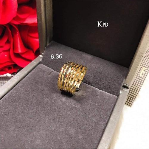 nhẫn tuần vàng tây 10k kèm giấy đảm bảo