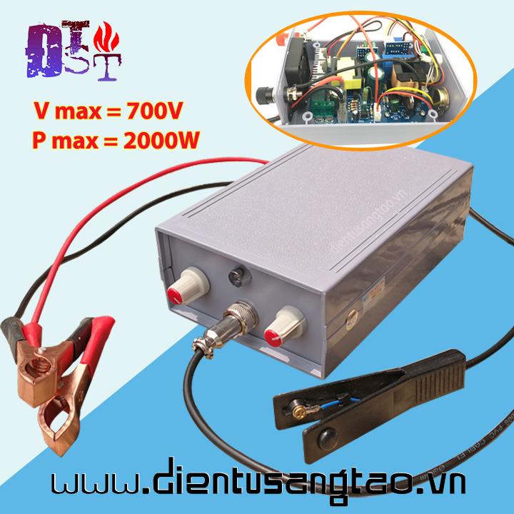 Máy kích điện tử băm xung, trộn tần 0 - 700V Đầy đủ phụ kiện