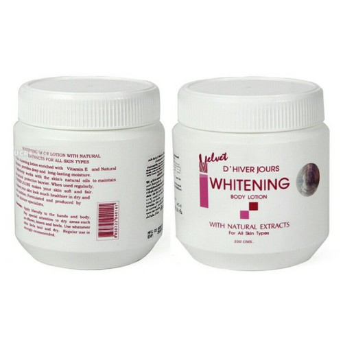 2 Hủ Kem dưỡng trắng da WHITENING BODY LOTION