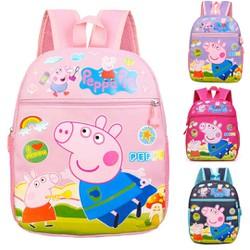 Balo Trẻ Em Hoạt Hình Peppa Pig Đáng Yêu Cho Bé Từ 3-6 Tuổi