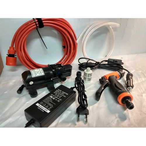 Bộ máy bơm rửa xe tăng áp lực nước mini giúp bạn dễ dàng tăng áp lực của nước có tặng nguồn - 4740963 , 17812129 , 15_17812129 , 465000 , Bo-may-bom-rua-xe-tang-ap-luc-nuoc-mini-giup-ban-de-dang-tang-ap-luc-cua-nuoc-co-tang-nguon-15_17812129 , sendo.vn , Bộ máy bơm rửa xe tăng áp lực nước mini giúp bạn dễ dàng tăng áp lực của nước có tặng ngu