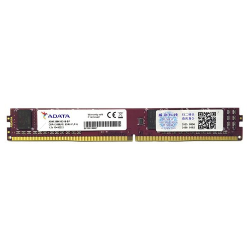 RAM lùn máy tính để bàn Adata DDR4 8GB bus 2666 MHz