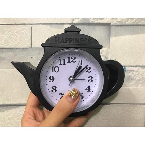 Đồng hồ để bàn cái ấm trà