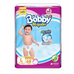 Tã quần Bobby M74-L68-XL62-XXL56 mới