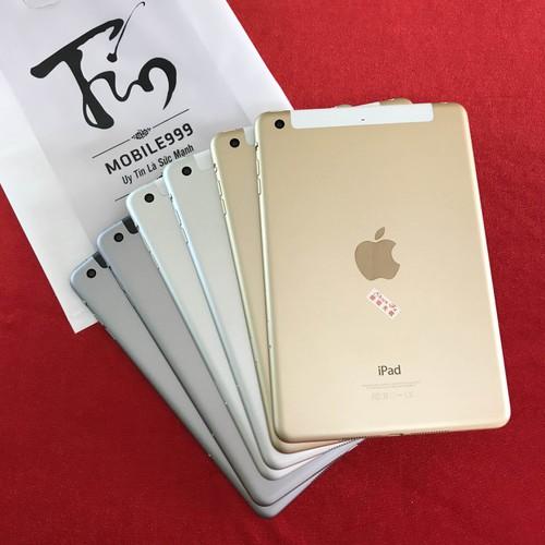 iPad Mini 3 Wifi 4G 64Gb Quốc tế Chính hãng
