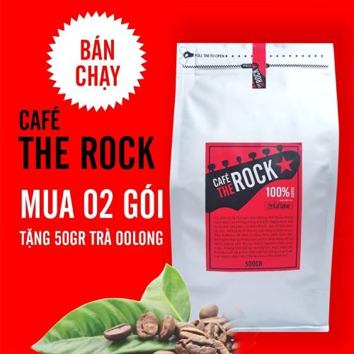 Cà phê đá cực mạnh The Rock rang xay pha phin 500g - The Kaffine