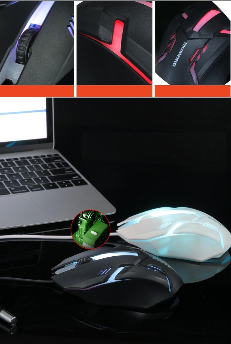 Chuột máy tính Sunwolf OP20 Gaming mouse PF168 4