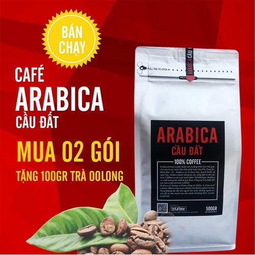 Cà phê Arabica Cầu Đất Rang Xay 500g - The Kaffeine