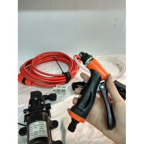 Bộ máy bơm rửa xe tăng áp lực nước mini giúp bạn dễ dàng tăng áp lực của nước không có nguồn - 7608201 , 17812207 , 15_17812207 , 409000 , Bo-may-bom-rua-xe-tang-ap-luc-nuoc-mini-giup-ban-de-dang-tang-ap-luc-cua-nuoc-khong-co-nguon-15_17812207 , sendo.vn , Bộ máy bơm rửa xe tăng áp lực nước mini giúp bạn dễ dàng tăng áp lực của nước không có nguồn