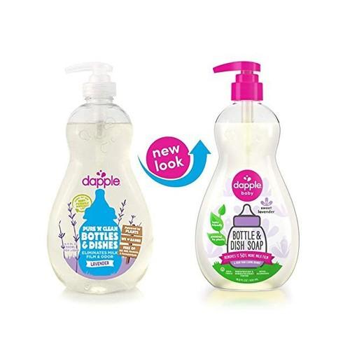 Nước rửa bình Dapple 500ml - Lavender
