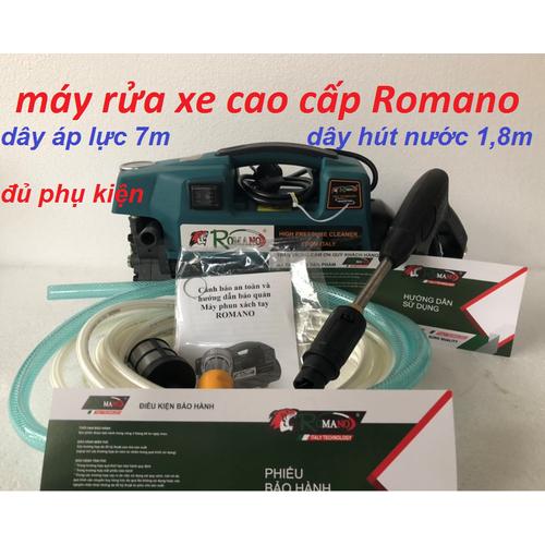 Máy rửa xe cao cấp Romano - 7607180 , 17802168 , 15_17802168 , 1460000 , May-rua-xe-cao-cap-Romano-15_17802168 , sendo.vn , Máy rửa xe cao cấp Romano