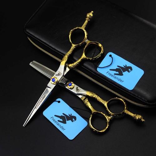 Kéo cắt tóc Freelander Nhật cán vàng - 8875209 , 18035287 , 15_18035287 , 800000 , Keo-cat-toc-Freelander-Nhat-can-vang-15_18035287 , sendo.vn , Kéo cắt tóc Freelander Nhật cán vàng