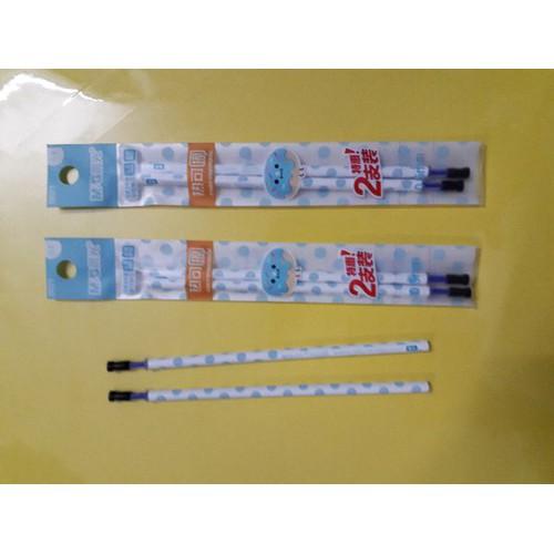 combo 3 túi ruột  bút  mực nước tẩy  được M&G màu xanh