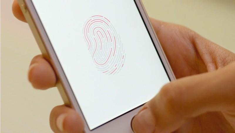 iPhone 5S Touch ID nhận dạng vân tay