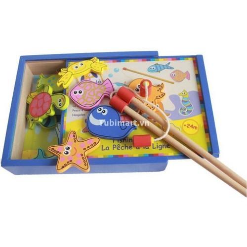 Đồ chơi câu cá nam châm bằng gỗ cho bé - 8874027 , 18033957 , 15_18033957 , 101000 , Do-choi-cau-ca-nam-cham-bang-go-cho-be-15_18033957 , sendo.vn , Đồ chơi câu cá nam châm bằng gỗ cho bé