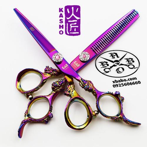 Cặp kéo cắt tóc Nhật bản Kasho rồng tím chính hãng - 4977090 , 18033665 , 15_18033665 , 1000000 , Cap-keo-cat-toc-Nhat-ban-Kasho-rong-tim-chinh-hang-15_18033665 , sendo.vn , Cặp kéo cắt tóc Nhật bản Kasho rồng tím chính hãng