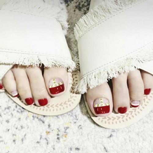 Bộ 24 móng chân giả mẫu C29 cao cấp kèm keo dán - 7629343 , 18028784 , 15_18028784 , 75000 , Bo-24-mong-chan-gia-mau-C29-cao-cap-kem-keo-dan-15_18028784 , sendo.vn , Bộ 24 móng chân giả mẫu C29 cao cấp kèm keo dán